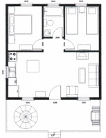 Floor Plan Cottages 7-10