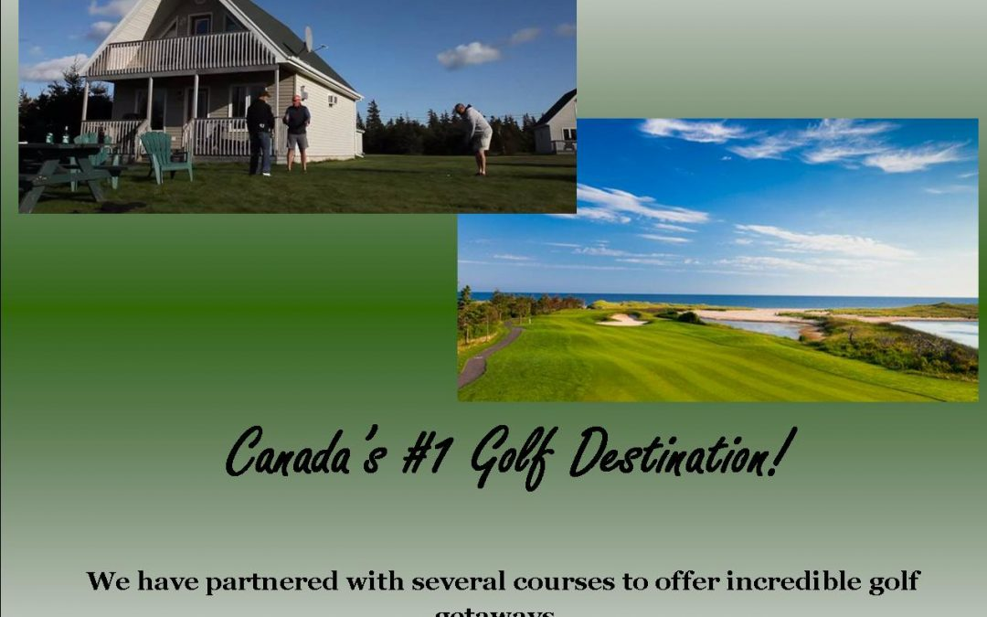 Swept Away Golf Packages ~ a perfect gift for the golfers on your Christmas list!